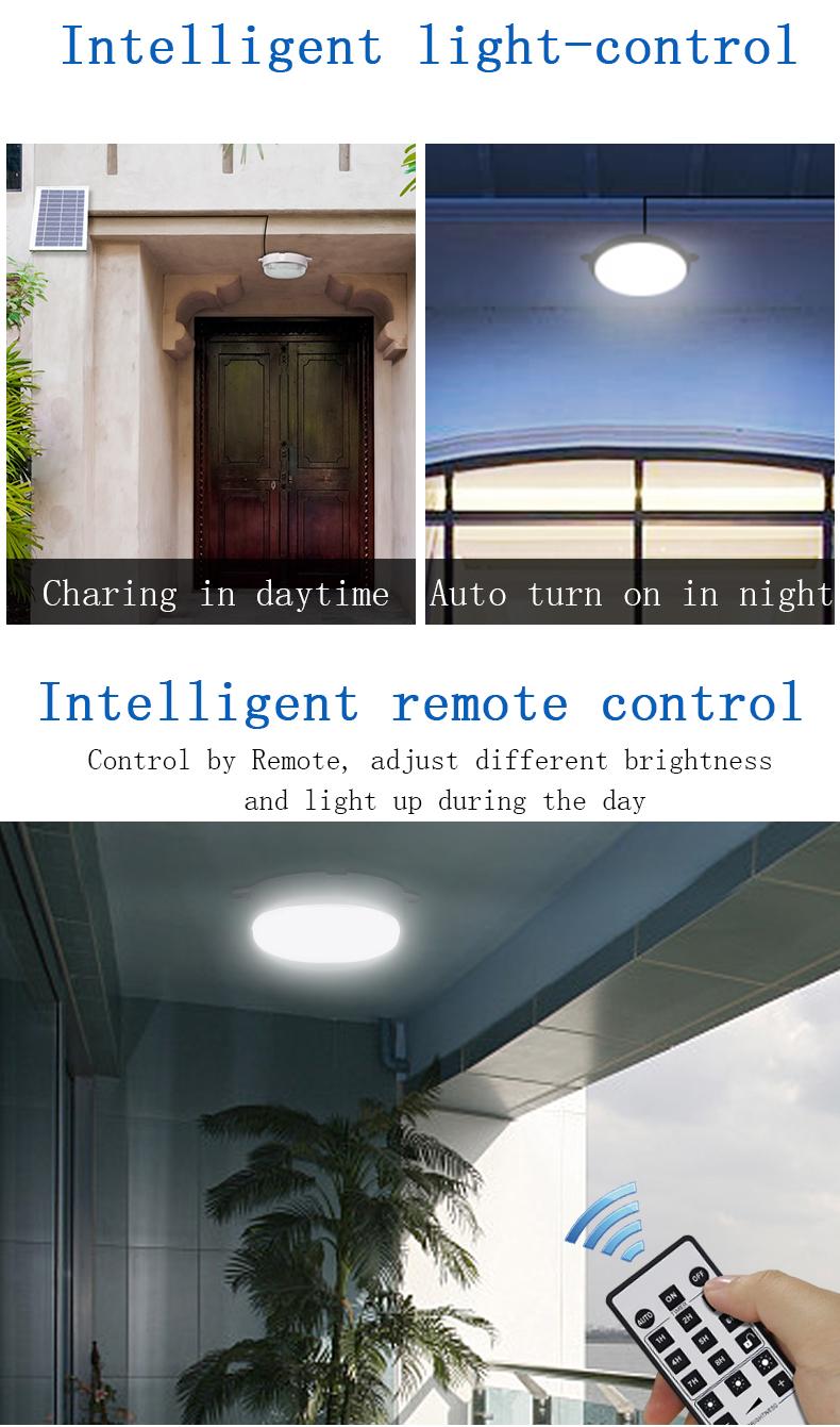 Solar corridor decor wall lamp hotel celling light solar wall mounted light 30w