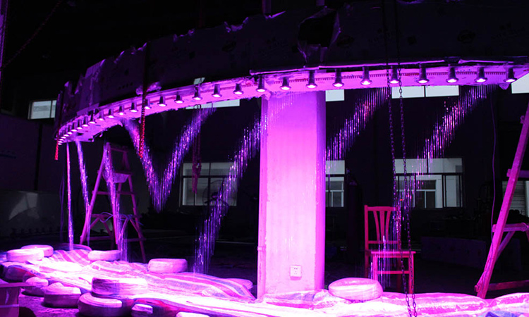 Indoor Outdoor Stainless Steel Led Interactive Digital Graphical Water Curtain