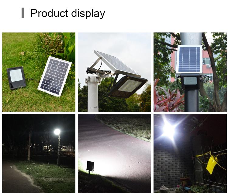 Powerful Dusk to Dawn Landscape Security Outdoor Garden Solar LED Flood Lights