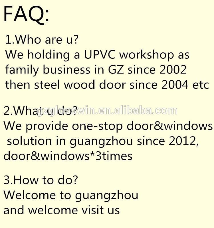 guangzhou factory pvc bathroom door price