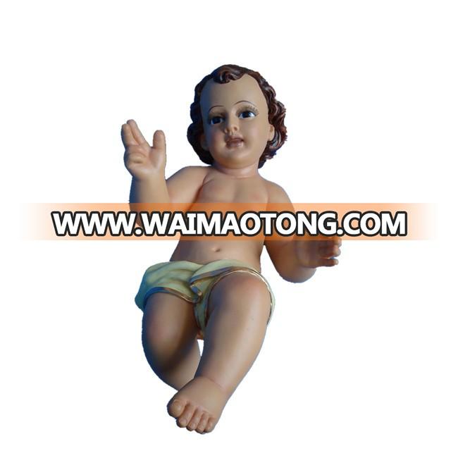 Holy Family Statue Baby Jesus Catholic Christian Religious Figurine