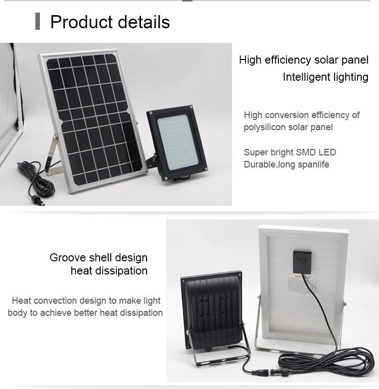 new design of solar powered waterproof outdoor solar path light with 15watts solar garden road light