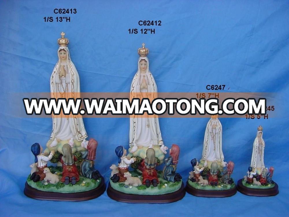 custom resin catholic religious statues wholesale