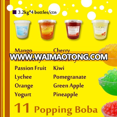 3.2KG bubble tea pineapple popping