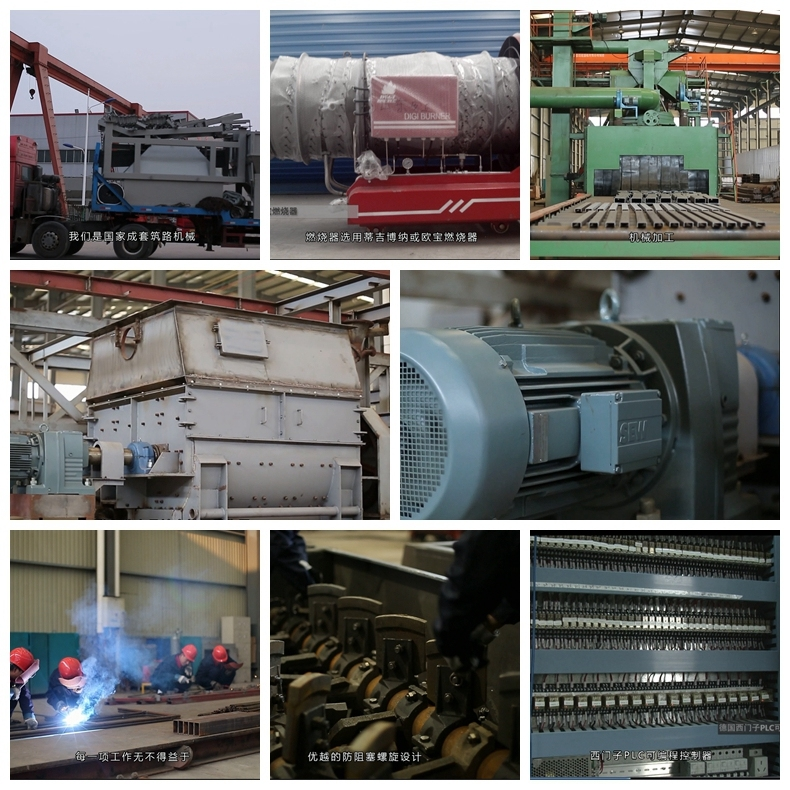 80 T/H Energy-Saving Environmental Protection Asphalt Batching Mixing Equipment with Low Emission