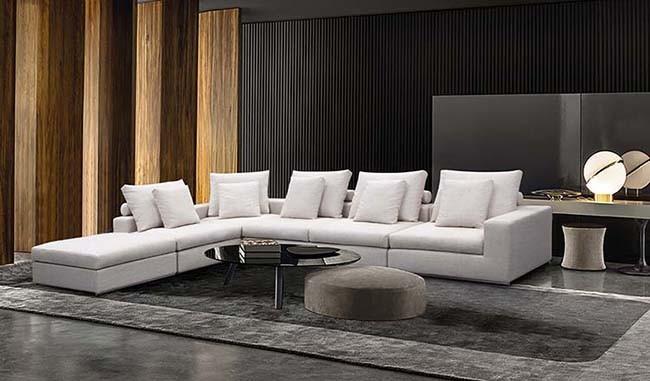 Chinese Living Room Modern Corner Sofa Furniture