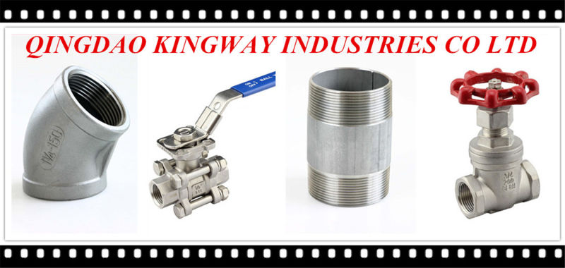 Sanitary Butterfly Valve with Muti-Position Handle, Threaded