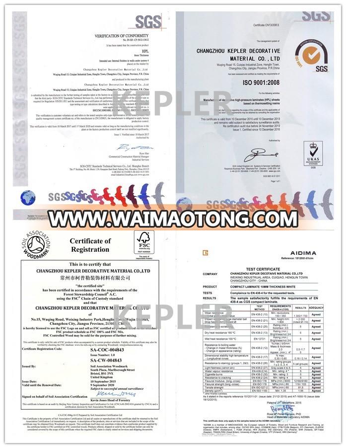 CHEAP HPL LAMINATE SHEETS/HIGH PRESSSURE LAMINATE SHEETS/HPL