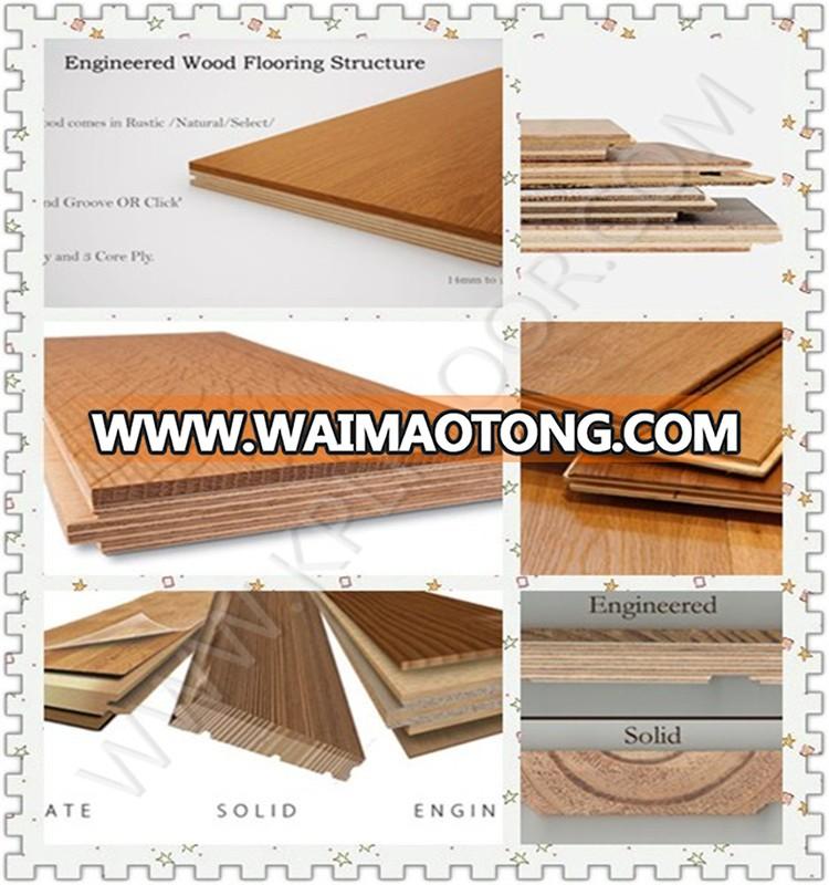 Factory Direct Price Newest Oak Flooring Wide Plank Wood Flooring Chemical Treatment Engineered Oak Wood Flooring